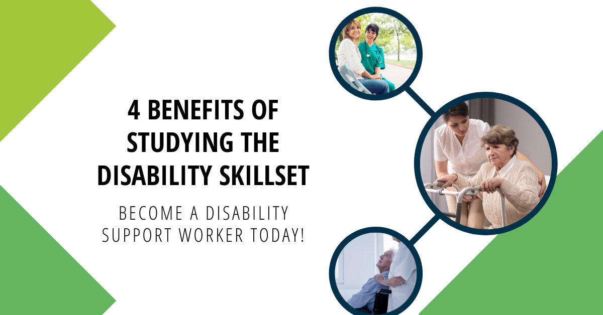 4 benefits to studying the disability skillset with Kirana colleges